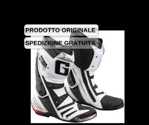 STIVALE RACING USO PISTA/SPORT TOURER  COL. NERO/BIANCO Gaerne  STIVALE GAERNE MOD. GP1