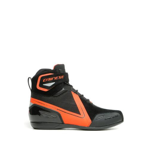ENERGYCA - SCARPA MOTO SPORT TOURING IN D-WP Dainese BLACK/FLUO-RED