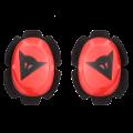 PISTA RAIN KNEE SLIDER Dainese  FLUO-RED/BLACK