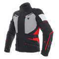 CARVE MASTER 2 - GIACCA MOTO SPORT TOURING IN GORE-TEX E TESSUTO MUGELLO Dainese Black/Frost-Grey/Red
