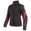 TEMPEST 2 - GIACCA MOTO LADY TOURING URBAN IN CORDURA D-DRY Dainese Black/Black/Tour-Red