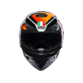 K-3 SV E2205 MULTI AGV LIQUEFY BLACK/ORANGE