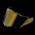 VISIERA SPORTMODULAR - VISOR GT3 - 2 AS - ( XL - 3XL ) AGV IRIDIUM GOLD