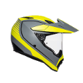 AX9 E2205 MULTI PLK  - PACIFIC ROAD AGV MATT GREY/YELLOW-FLUO/BLACK