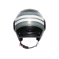 ORBYT AGV E2205 MULTI  AGV BRERA MATT BLACK/GREY/YELLOW FLUO