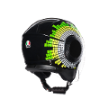 ORBYT AGV E2205 MULTI  AGV GINZA BLACK/YELLOW/GREEN