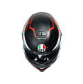 K5 S E2205 MULTI  AGV THUNDER MATT BLACK/WHITE/RED