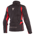 X-TOURER - GIACCA MOTO LADY TRIPLO STRATO TOURING 4 SEASONS IN D-DRY Dainese  Black/Black/Tour-Red