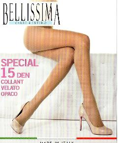 4 paia Collant Special 15 den BELLISSIMA