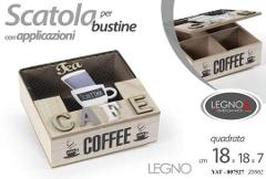 Copia di Scatola bustine THE CAFFE MDF Cod. 807527