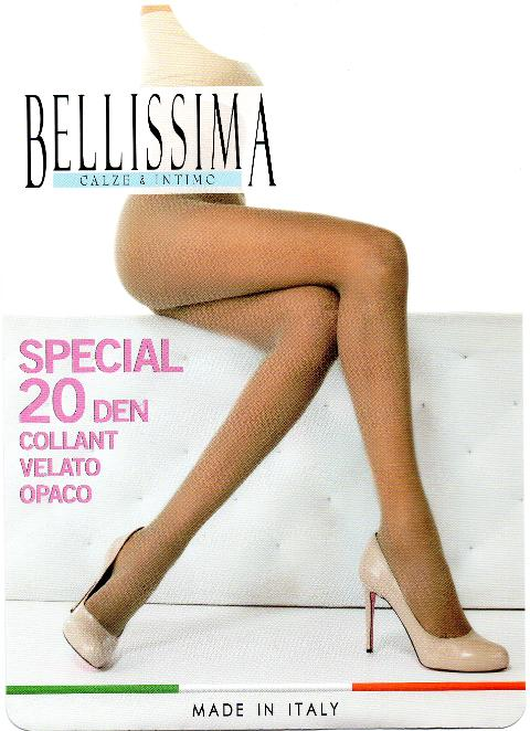 4 paia Collant BELLISSIMA Special 20 den