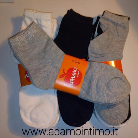 6 Paia calzini Adamo Cotone Elasticizzato ADAMO Art. 8007