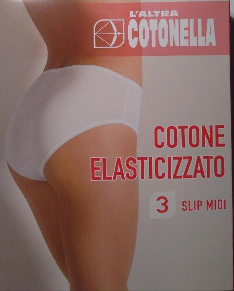 Slip Midi  Cotonella Art. 3940