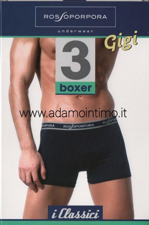 Boxer Uomo ROSSOPORPORA Art.GIGI