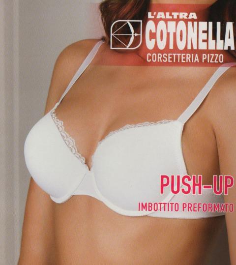 Reggiseno push-up imbottito preformato L'altra cotonella Art. ELENA CD085