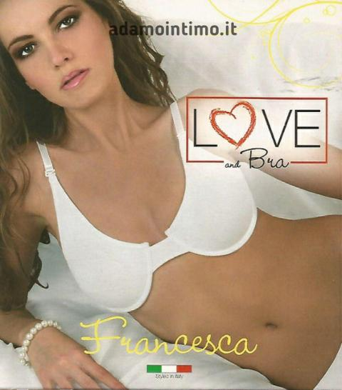 Reggiseno con ferretto Love and Bra Francesca