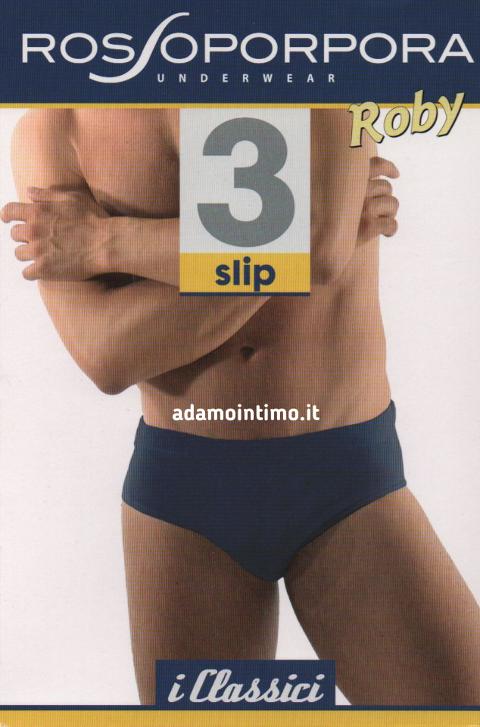 Slip per uomo con elastico interno Rossoporpora Art. ROBY