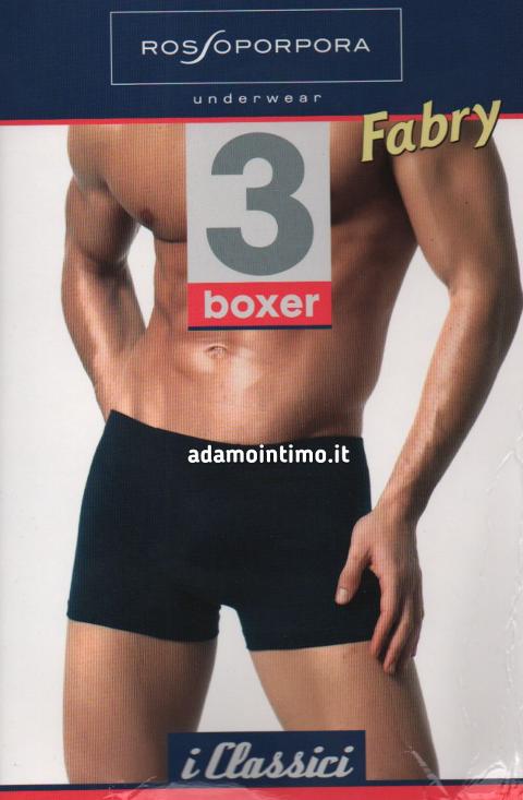 Boxer per uomo con elastico interno Rossoporpora Art. FABRY