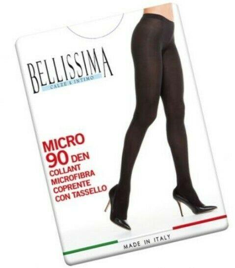 Offerta 3 paia Collant in Microfibra coprente  Bellissima Micro 90den