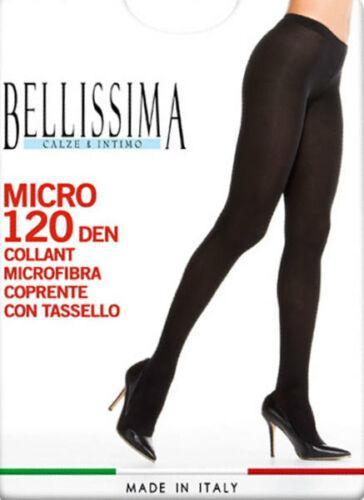 3 paia Collant in Microfibra coprente3 paia Collant in Microfibra coprente Bellissima 120 Den  Bellissima  120 Den