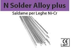 N SOLDER ALLOY PLUS (SALDAME PER LEGHE Ni-Cr) BARTOLINI DENTAL GROUP N SOLDER ALLOY PLUS