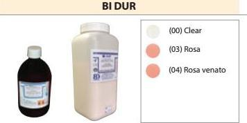 BI DUR LIQUIDO DA 500 ML (RESINE PER PALATI) BARTOLINI DENTAL GROUP LIQUIDO DA 500 ML
