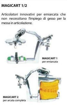 ARTICOLATORE MAGIC 2 BARTOLINI DENTAL GROUP ARTICOLATORE MAGIC 2