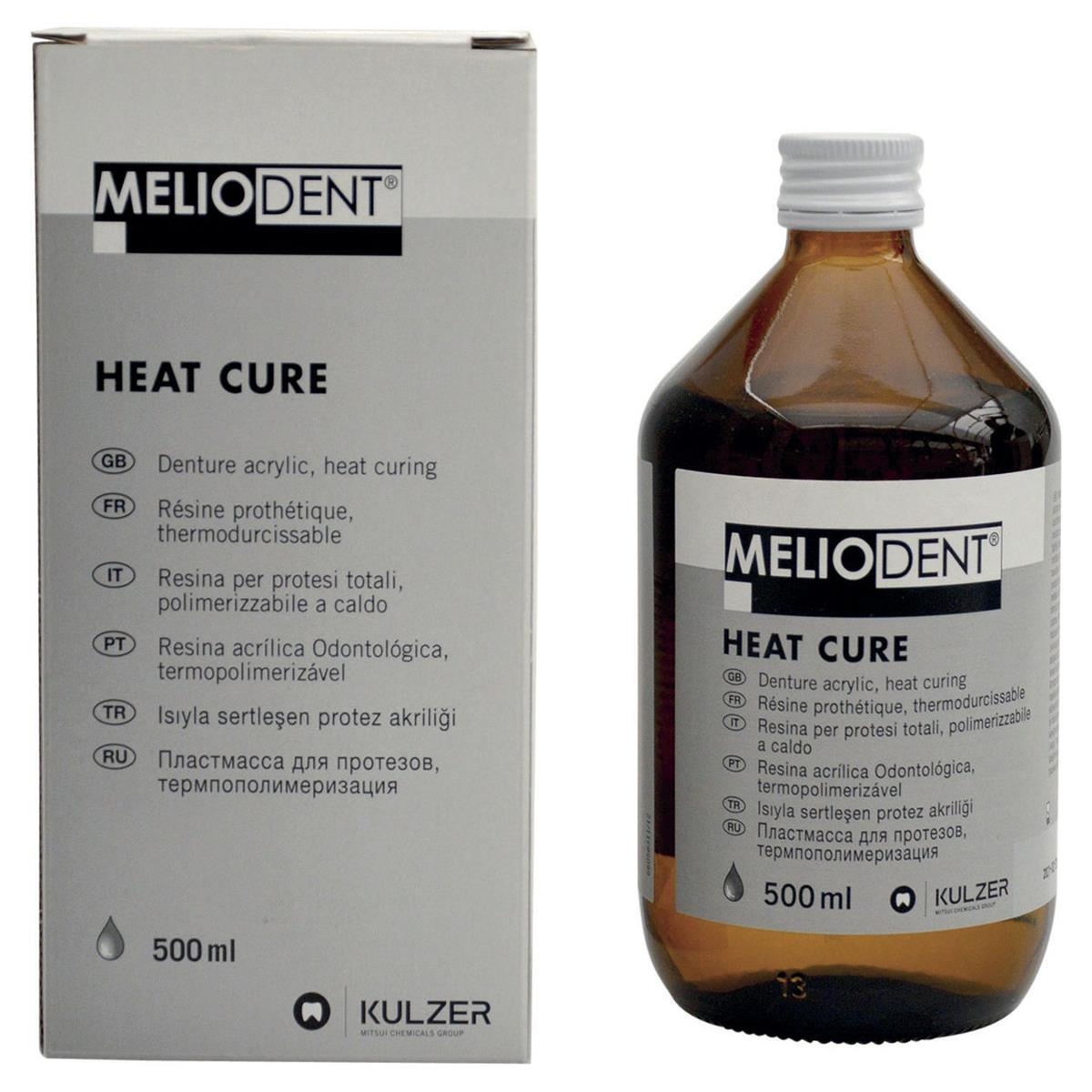MELIODENT HEAT CURE - Liquido 500 ml Kulzer MELIODENT HEAT CURE - Liquido 500 ml