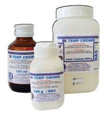BI TEMP CROWN (RESINE PER PROVVISORI) Dentine 100g A1-A2-A3-A3,5-A4-B1-B2-B3-C2-D3 BARTOLINI DENTAL GROUP BI TEMP CROWN