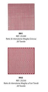 Preformati in cera Ritenzione a maglia grossa RN1/ RN2/RN3 BARTOLINI DENTAL GROUP  RN1/ RN2/RN3