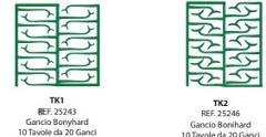 Preformati in cera Gancio Anulare RKG/TK/TK2 BARTOLINI DENTAL GROUP  RKG/TK/TK2