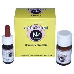 N2 ENDODONTIC CEMENT - Confezione: polvere da 10 g e liquido da 4 ml GHIMAS  N2
