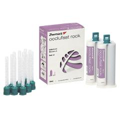 OCCLUFAST ROCK - Confezione: 2 x 50 ml cad. + 12 puntali verdi ZHERMACK  OCCLUFAST ROCK - Confezione: 2 x 50 ml cad. + 12 puntali verdi