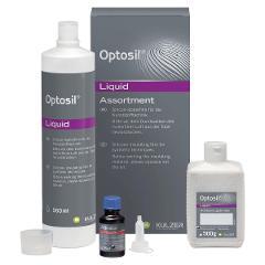 OPTOSIL FLUIDO - Confezione: fluido 560 ml, granuli 500 g e attivatore 25 ml Kulzer Confezione: fluido 560 ml, granuli 500 g e attivatore 25 ml