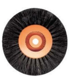 Spaz conv. Set nera C.Plastica Ø 80 mm 4 R Cf. 6 pz BARTOLINI DENTAL GROUP UP360