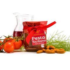 Pesto siciliano SICILIA TENTAZIONI vasetto 180 gr