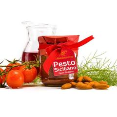 Pesto siciliano SICILIA TENTAZIONI VASETTO 90 GR