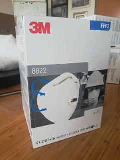 Mascherina FFP2 con valvola 3M