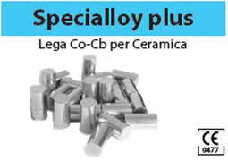 LEGA SPECIALLOY PLUS CR-CO( ARGELOY NP SUPREME) 0,65 euro al grammo BARTOLINI DENTAL GROUP SPECIALLOY PLUS