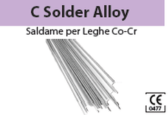 C SOLDER ALLOY (SALDAME PER LEGHE Co-Cr) BARTOLINI DENTAL GROUP C SOLDER ALLOY