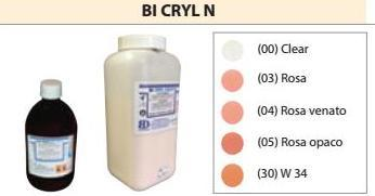 BI CRYL N POLVERE DA 1 KG (RESINE PER PALATI) BI  CRYL N