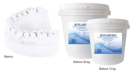 BI FLASH ECO BIANCO BIDONE 20 Kg BARTOLINI  DENTAL GROUP