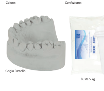 GREY ROCK classe IV GRIGIO BIDONE 5 Kg BARTOLINI DENTAL GROUP GREY ROCK classe IV GRIGIO BIDONE 5 Kg