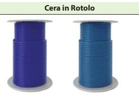 CERA ROTOLO 250 gr misure 2 mm/2.5 mm/3 mm/3.5 mm/4 mm/5 mm BARTOLINI DENTAL GROUP 250 gr misure 2 mm/2.5 mm/3 mm/3.5 mm/4 mm/5 mm