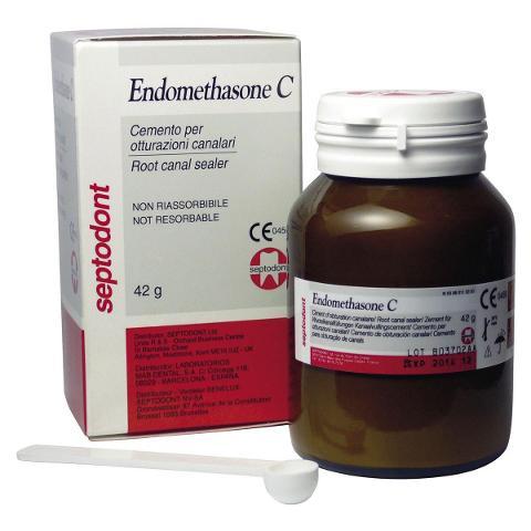 ENDOMETHASONE C - Polvere - flacone da 42 g SEPTODONT ENDOMETHASONE C - Polvere - flacone da 42 g