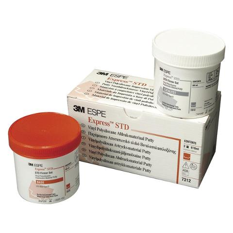 EXPRESS PUTTY per miscelazione manuale - 7312 STD - Alta viscosità, ocra. 3M 7312 STD -
