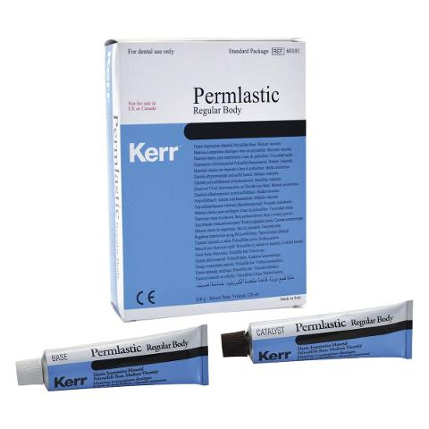 PERMLASTIC - Regular body - base + catalizzatore da 60 ml cad. KERR Regular body - base + catalizzatore da 60 ml cad.