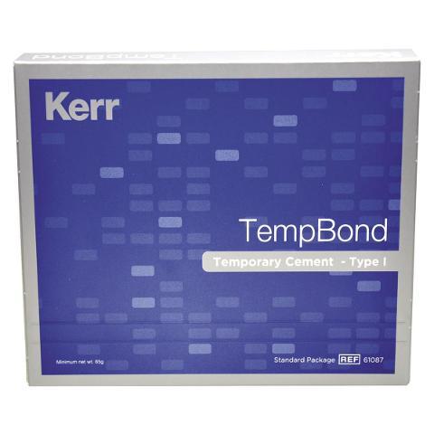 TEMP-BOND IN TUBI - Con eugenolo senza modificatore: base 50 g e catalizzatore 15 g KERR Con eugenolo senza modificatore: base 50 g e catalizzatore 15 g