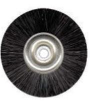 Spazzola CM Plastica in setola nera Ø 48 mm Cf. 10 pz BARTOLINI DENTAL GROUP  48 mm Cf. 10 pz