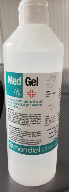 GEL IGIENIZZANTE AD AZIONE BATTERICIDA -  MED 500ML